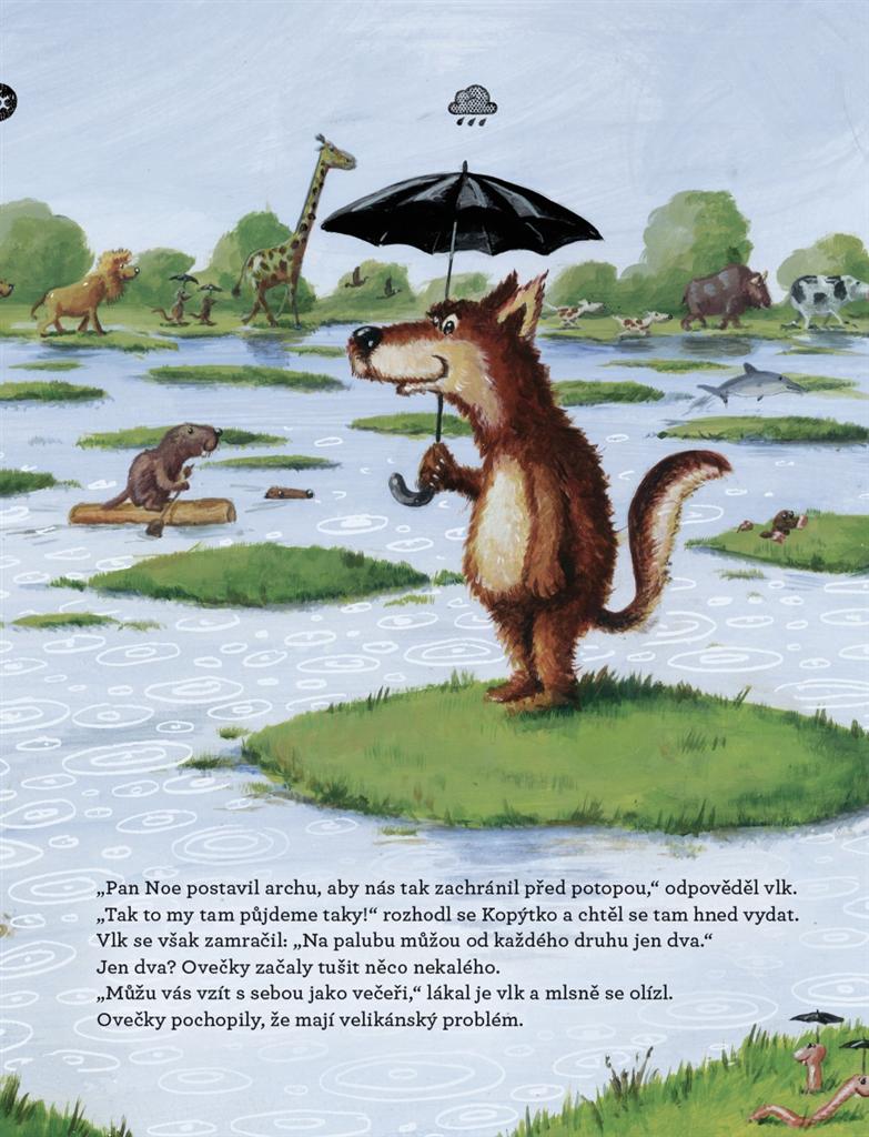 Dětská literatura | Tři ovečky na arše | Nakladatelství Portál